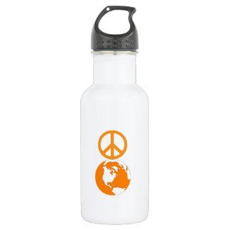 Peace on Earth Waterbottle 532 Ml Water Bottle