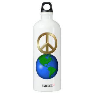 Peace on Earth Word Puzzle SIGG Traveller 1.0L Water Bottle