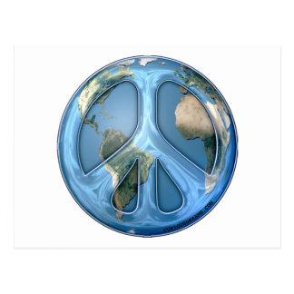 Peace On Earth/World Peace Postcard