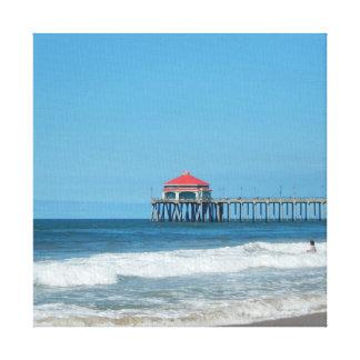 Peace on the Ocean Canvas Print