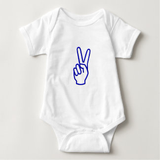 Peace or V for Victory Baby Bodysuit