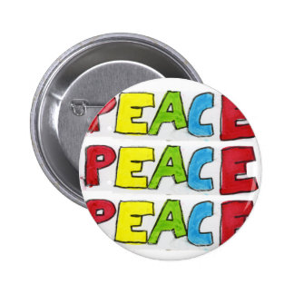 Peace Out 6 Cm Round Badge
