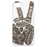 """Peace Out"" Design iPhone 5 Cases"
