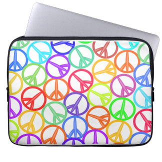 Peace Out! Laptop Case