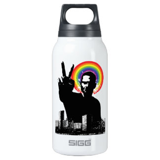 Peace Out 10 Oz Insulated SIGG Thermos Water Bottle