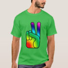Peace Out Sign Men's ComfortBlend® EcoSmart™ T T-Shirt
