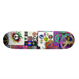 PEACE OUT!! SKATE BOARD