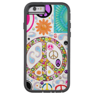 Peace & Paisley Collage Tough Xtreme iPhone 6 Case