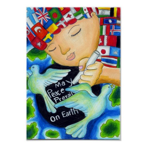 Peace Pals ~ May Peace Prevail On Earth Posters