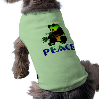 Peace Panda Bear Shirt