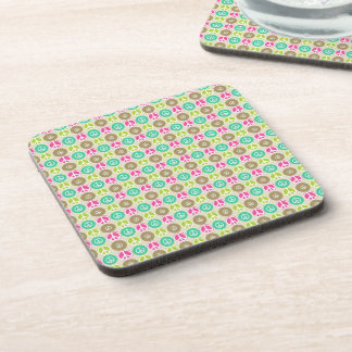 Peace Pattern Beverage Coaster