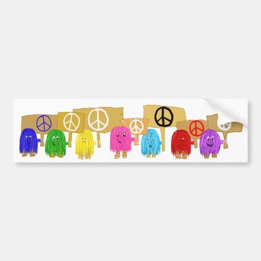 Peace People Bumper Sticker