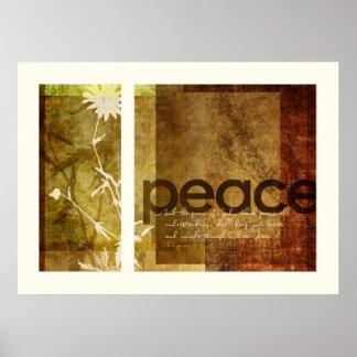 Peace | Philippians 4:7 Poster