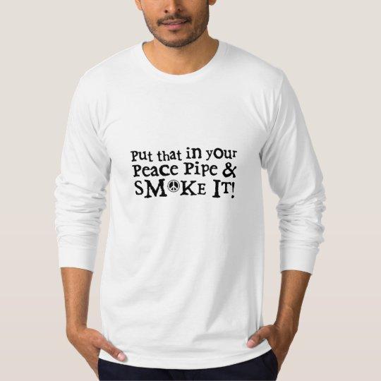 Peace Pipe American Long Sleeve T Shirt
