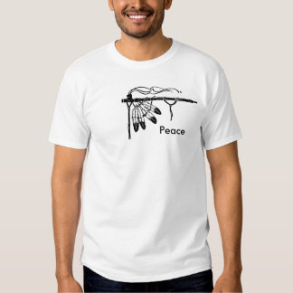 Peace Pipe T-shirts