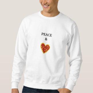 Peace & Pizza Crewneck Sweatshirt