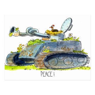 PEACE ! postcard