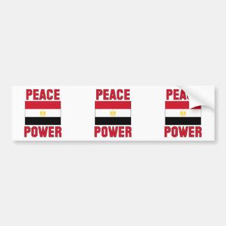 Peace Power Bumper Sticker