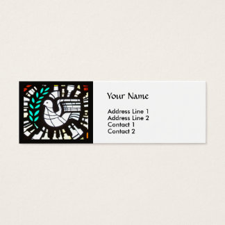 Peace Profile -- Buddha quote Mini Business Card