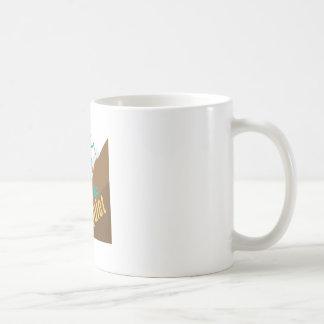 Peace & Quiet Basic White Mug