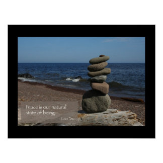 Peace quote poster