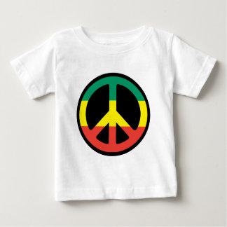 peace rasta baby T-Shirt
