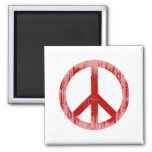peace red Faded.png Magnet
