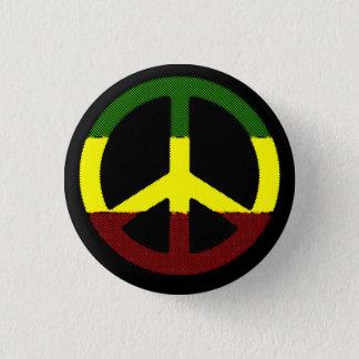 Peace Reggae 3 Cm Round Badge