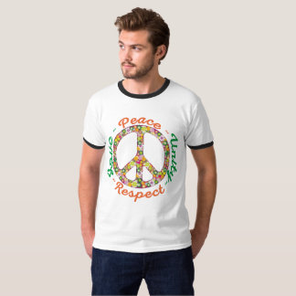 peace respect and unity t shirt