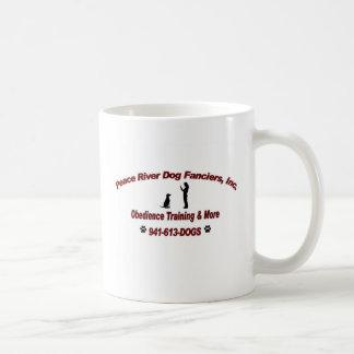 Peace River Dog Fanciers Basic White Mug
