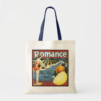 Peace River Fruit Company Crate Label Budget Tote Bag