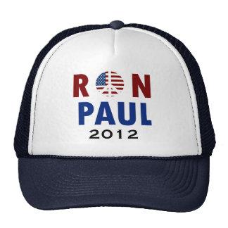 Peace Ron Paul 2012 Trucker Hats