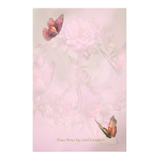 Peace Roses Stationery
