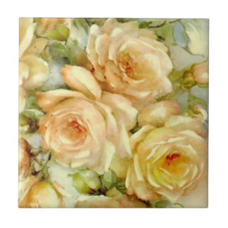 Peace Roses Tile