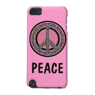 PEACE SEQUINED PINK iPod Touch Speck Case