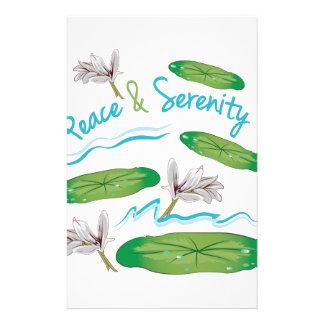 Peace & Serenity Stationery