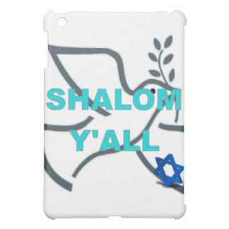 Peace Shalom Y'All Speck iPad Case
