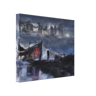 Peace Ship Canvas