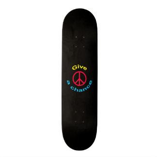 Peace Sign 20.6 Cm Skateboard Deck