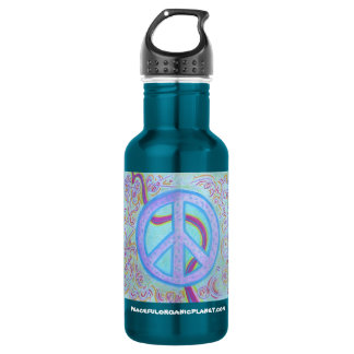 PEACE SIGN 532 ML WATER BOTTLE