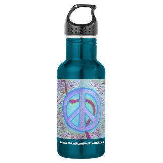 PEACE SIGN 532 ML WATER BOTTLE