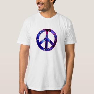 Peace Sign Alien Pods Fractal Tshirts