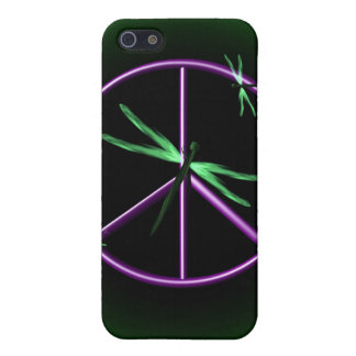 Peace Sign and Dragonfly iPhone 5 Cover
