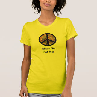 Peace Sign and Sunflowers T Shirt