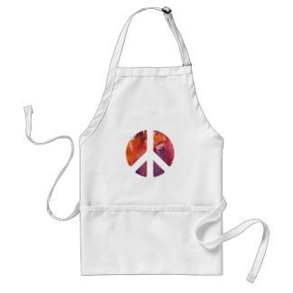 Peace Sign Aprons
