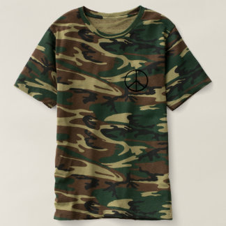 Peace Sign Camo Shirt