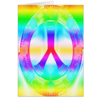 Peace Sign Card