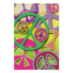 PEACE SIGN COLLAGE POSTER