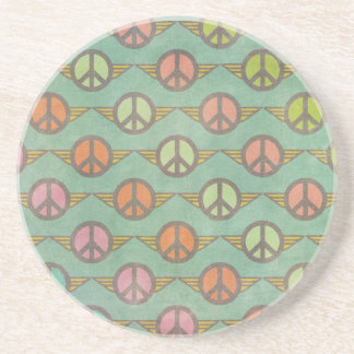 PEACE SIGN DRINK COASTER