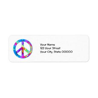 Peace Sign Fractal Summer Palette